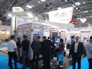 Robotmaster på Automatica 2012 i Munchen